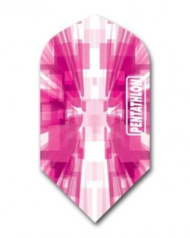 Flight Pentathlon pink white slim