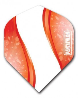 Flight Pentathlon red and white Wave standard