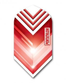Flight Pentathlon white and red slim