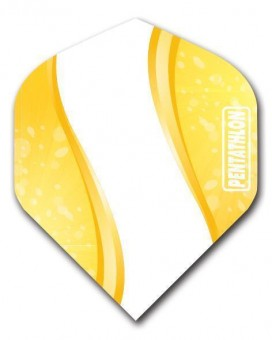 Flight Pentathlon yellow and white Wave standard
