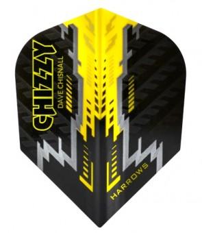 Harrows Chizzy Prime black Dartflights