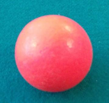Kickerball Kork neon-rot