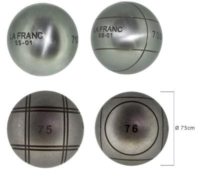 Boulekugeln La Franc SS-01 - 75