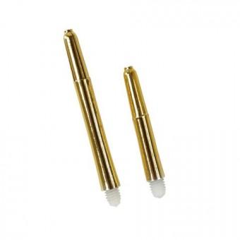 Metallic Nylon Schaft xshort gold