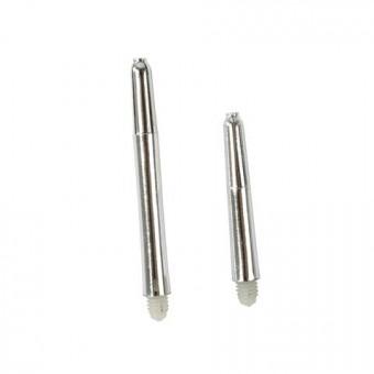 Metallic Nylon Schaft xshort silber