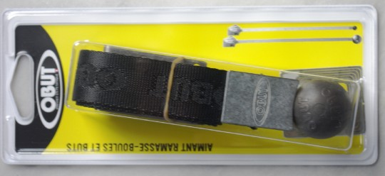OBUT Magnet-Kugelheber am schwarzen Band inkl. magnetischer Zielkugel