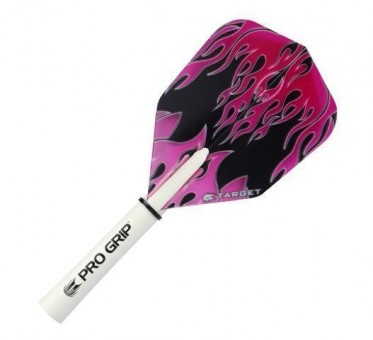 Target Pro 100 Purple PPink Flame Flight No. 6