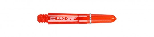 PRO GRIP SPIN RED SHORT SHAFT
