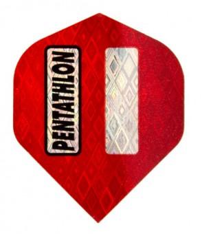 Pentathlon Flight red/silver
