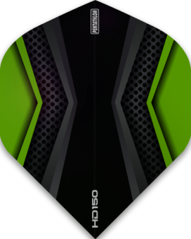 Pentathlon Flights HD 150 Two Colour Black & Green
