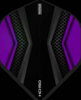 Pentathlon Flights HD 150 Two Colour Black & Purple