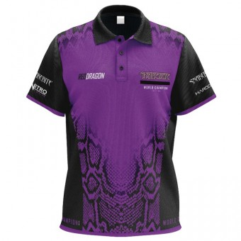 Red Dragon Peter Wright Snakebite World Champion Edition Shirt
