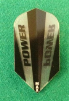 Power Max Flights black-clear SLIM