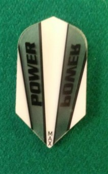 Power Max Flights white-clear SLIM
