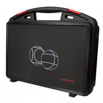 Premierboule Koffer *Carreau* für 6 Boule Kugeln + Zubehör