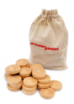Premiergames Spielsteine für Shuffleboard 30 Stück