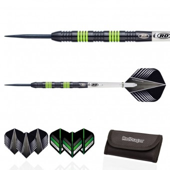 Red Dragon Freestyle v2: Steeldarts inkl. Tasche 22g