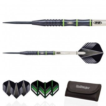 Red Dragon Freestyle v3: Steeldarts inkl. Tasche 21g
