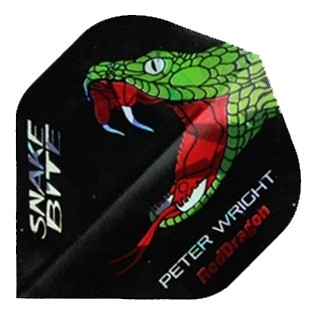 Red Dragon Peter Wright Snakebite Black Flight