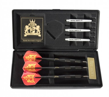 Royal Darts Black B! Steeldarts 20g im Etui