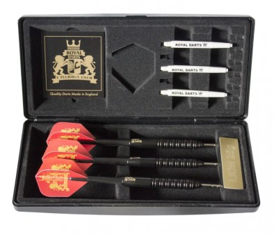 Royal Darts Black B! Steeldarts 22g im Etui