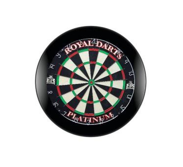 Royal Darts Dartboard PLATINUM inkl. schwarzem Surround