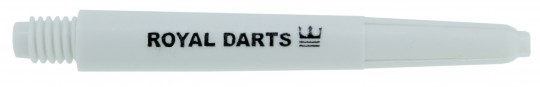 Royal Darts Dartschaft Nylon white medium