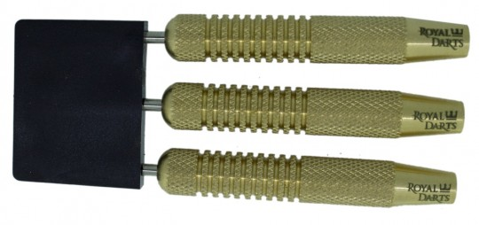 Royal Darts Plain Brass Steeldarts 24g Barrels only