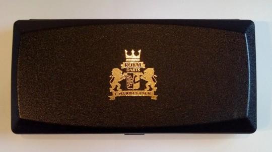 Royal Darts Starter Case - SCHWARZ