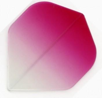 Royal Darts Vignette Flights pink clear pink clear
