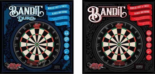 Shot! Bandit Dartboard