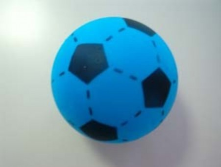 Softfussball blau