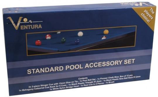Standard Poolbillard Accessory Set