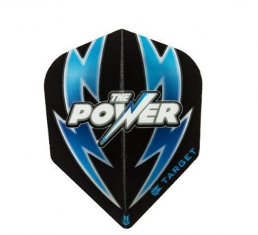 TARGET POWER ARC BOLT BLACK-BLUE NO6 FLIGHT