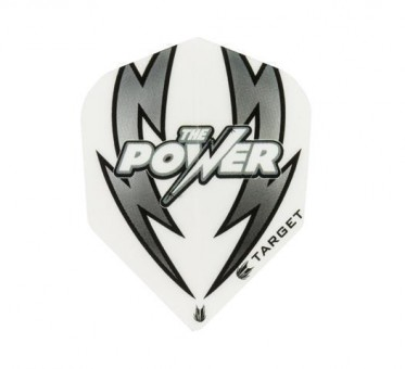 TARGET POWER ARC BOLT WHITE-BLACK-NO6 FLIGHT