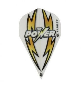 TARGET POWER ARC BOLT WHITE-GOLD VAPOR FLIGHT