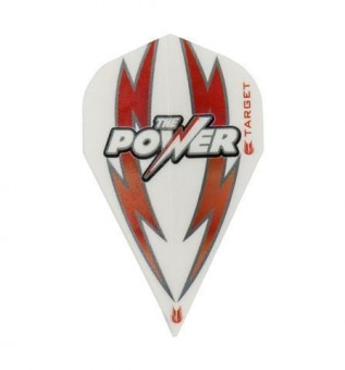 TARGET POWER ARC BOLT WHITE-RED VAPOR FLIGHT