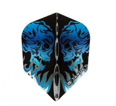 TARGET VISION BLUE SKULL FACING NO6 STD FLIGHT