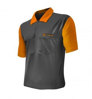 Target Cool Play 2 Shirt Grau-Orange - SALE 5XL