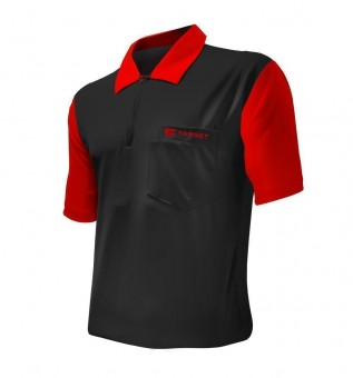 Target Cool Play Hybrid 2 Shirt Black & Red