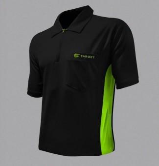 Target Cool Play Hybrid Shirt Black & Green M