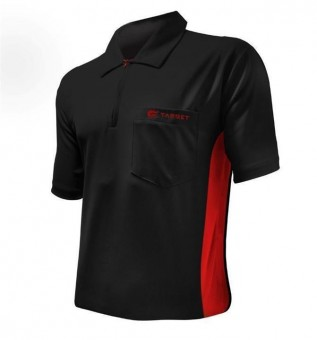 Target Cool Play Hybrid Shirt Black & Red L