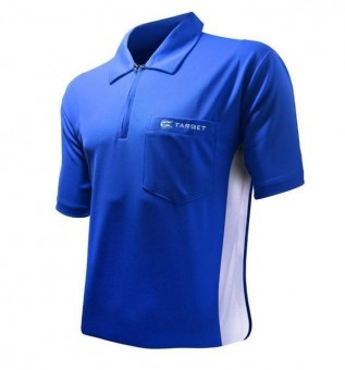 Target Cool Play Hybrid Shirt Blue & White 2XL