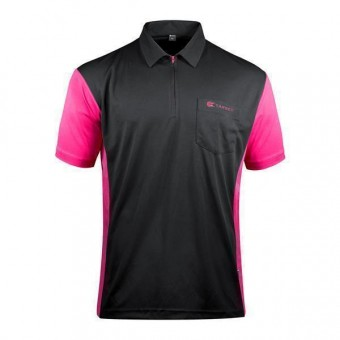 Target Coolplay Hybrid 3 Darthemd black & pink 2XL
