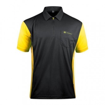 Target Coolplay Hybrid 3 Darthemd black & yellow 4XL