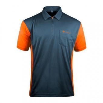 Target Coolplay Hybrid 3 Darthemd stahlblau & orange 3XL