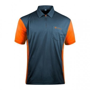 Target Coolplay Hybrid 3 Darthemd stahlblau & orange 5XL