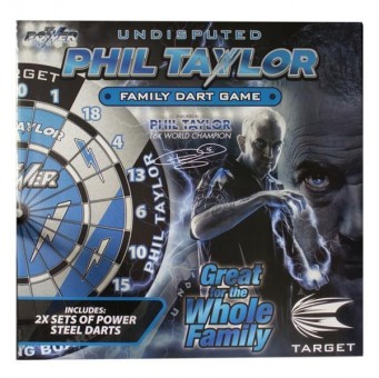 Target Phil Taylor Family Dart Game