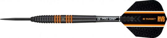 Target RVB 80% Black Tungsten Steeltip-Dartset 24g