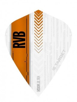 Target RVB VISION ULTRA WHITE/ORANGE Kite Flight
